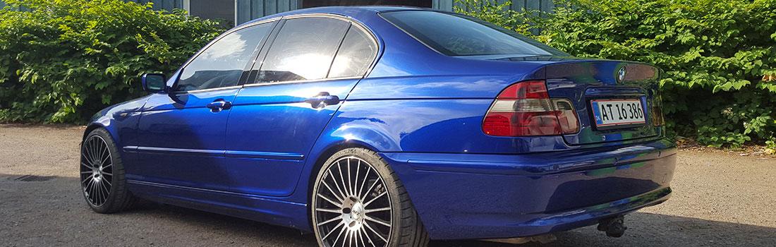 Autolakering af BMW